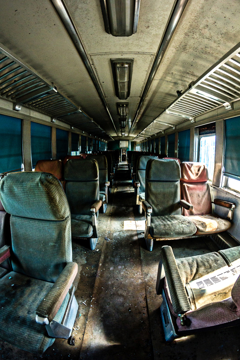 Photograph Train travel is dead. urbex by Christopher Artell on 500px