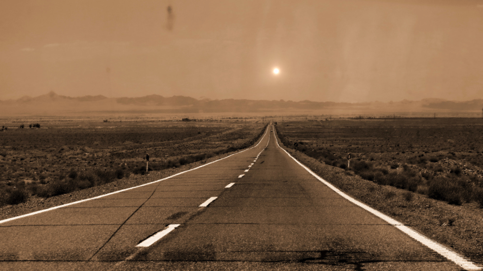 Photograph Desert Road by a_ sharifzade on 500px