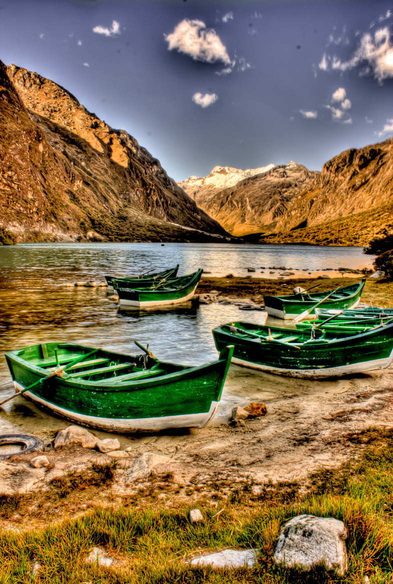 Photograph Laguna de Llanganuco by Gonzalo Magot on 500px