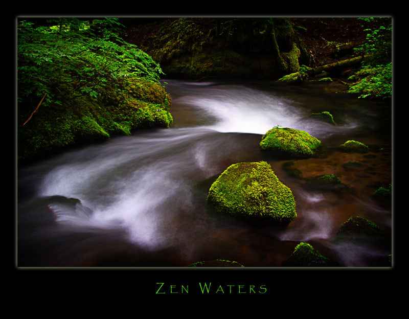 Photograph Zen Waters by Harry Blair on 500px