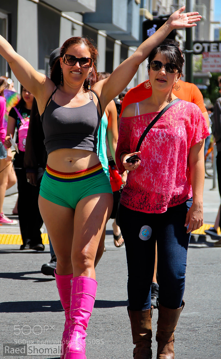 Photograph San Francisco Pride Festival by Raed Shomali on 500px