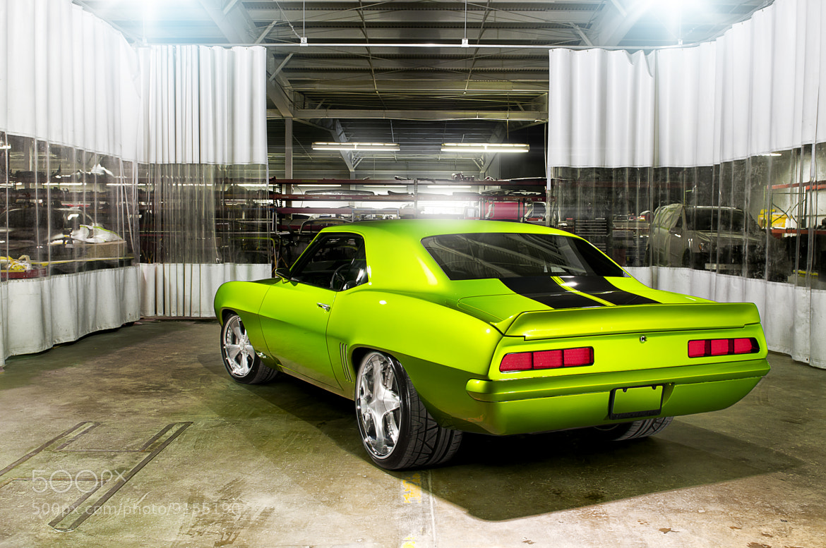 Photograph 69 Camaro Green Monster by William Stern on 500px