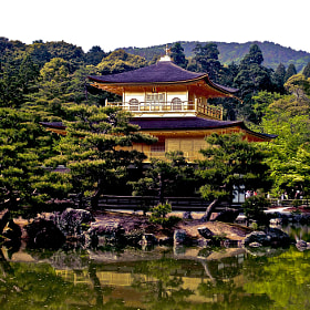Golden Temple in Kyoto by Christophe Pfeilstücker (xris74)) on 500px.com