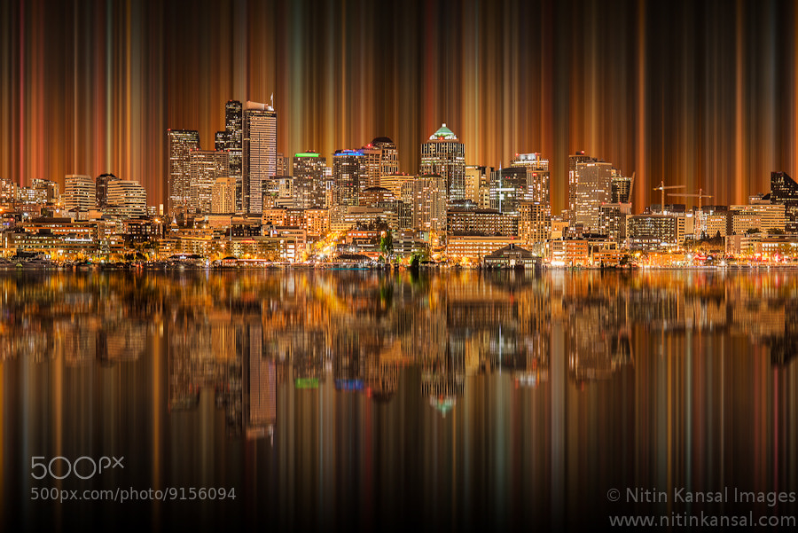 Photograph Seattle Skyscrapper Reflections by Nitin Kansal on 500px