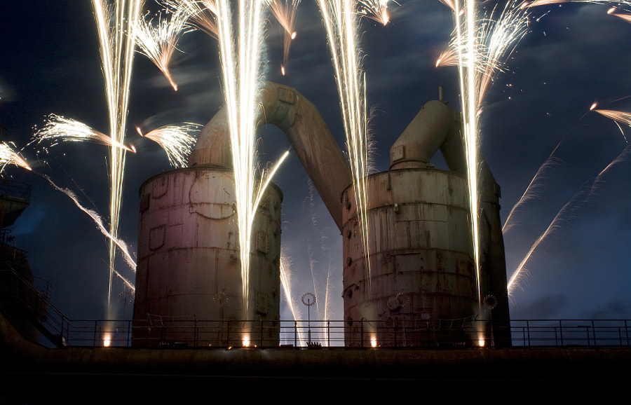 Industrial Fireworks
