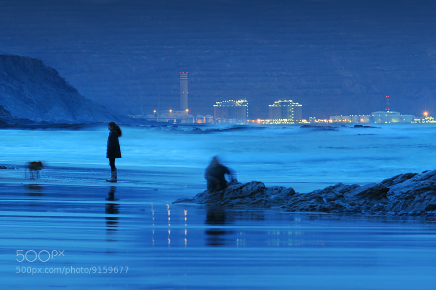 Photograph Blue of beach by Alex  McQueen  on 500px