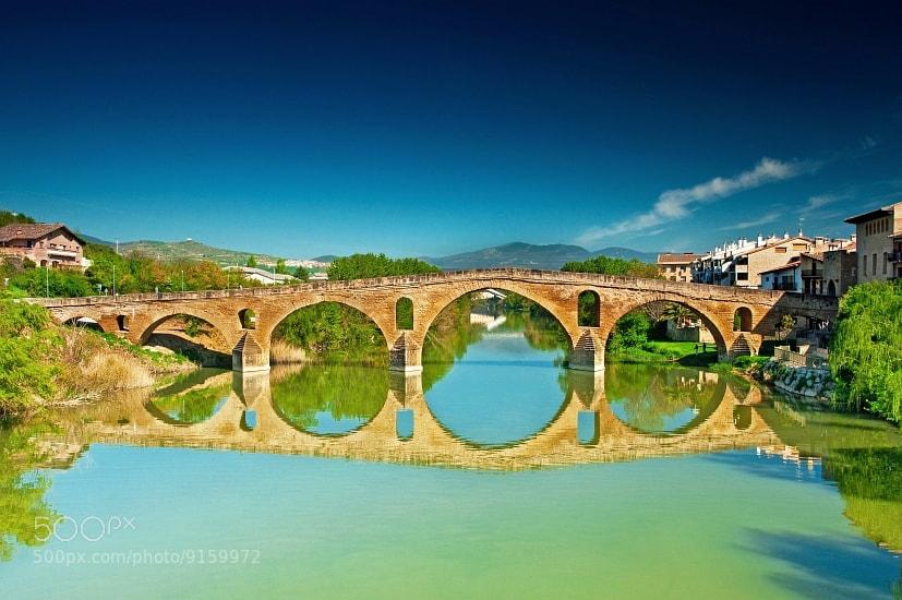 Photograph Puente la Reina by Botond Horváth on 500px