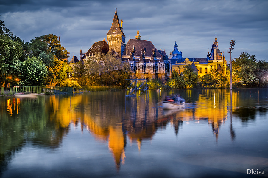 Photograph Vajdahunyad Castle, Budapest, Hungary by Domingo Leiva on 500px
