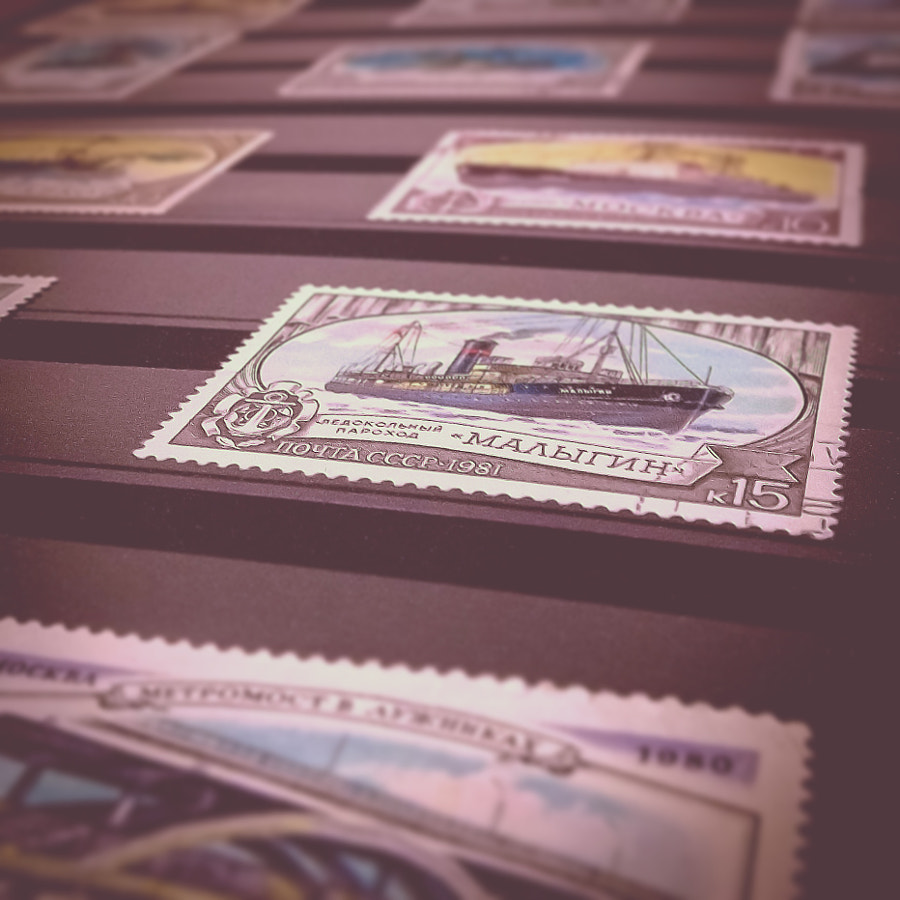 Stamp Collection by İlker TURAN on 500px.com