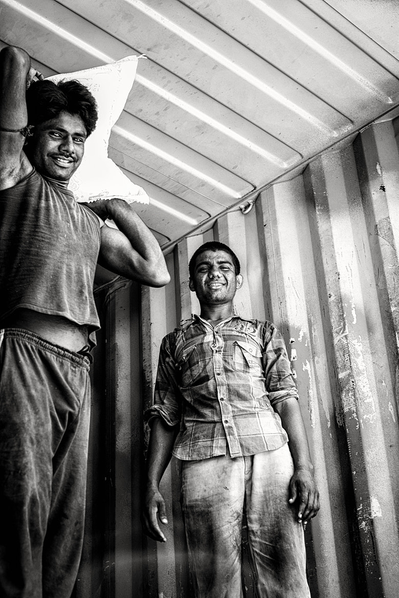 Photograph Gritty Smiles by Yohaan Kerawalla on 500px