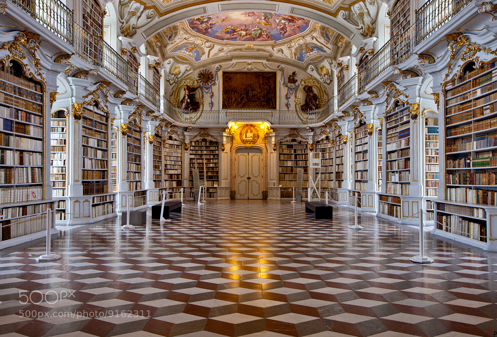 Photograph Monastery Admont IV by Marc G on 500px