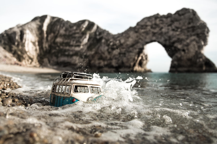 Riding at Durdle Door by Kim Leuenberger on 500px.com
