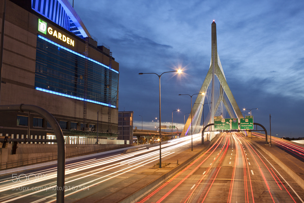 Photograph Zakim Bridge by Aaron Mello on 500px