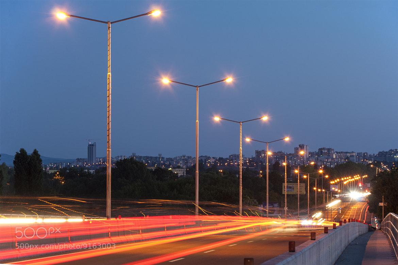 Photograph Еvening Traffic by Йоан Митов on 500px