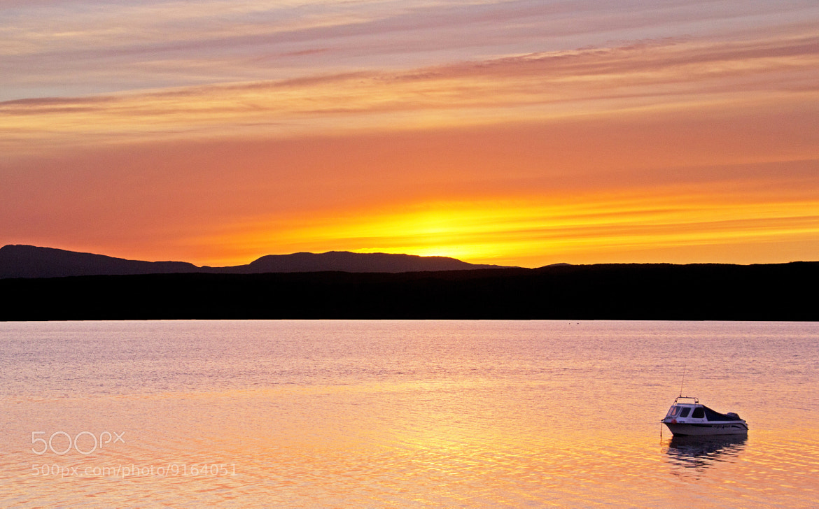 Photograph Loch Sween Sunset by Mike Smith on 500px
