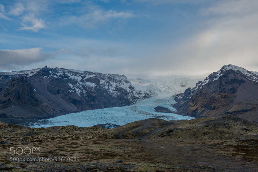 Glacial Spill by mitchdecock