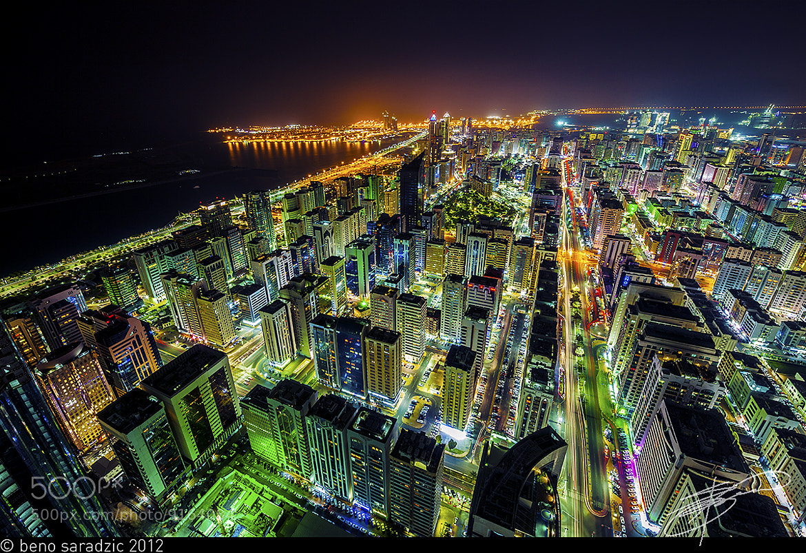 Photograph Bright Lights, Arabian City by Beno Saradzic on 500px