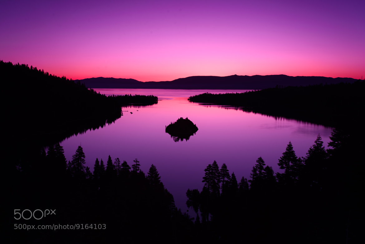 Photograph Sunrise in Purple Tones by Evgeny Tchebotarev on 500px