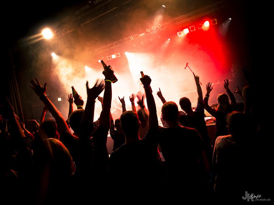 fotografía concierto de rock