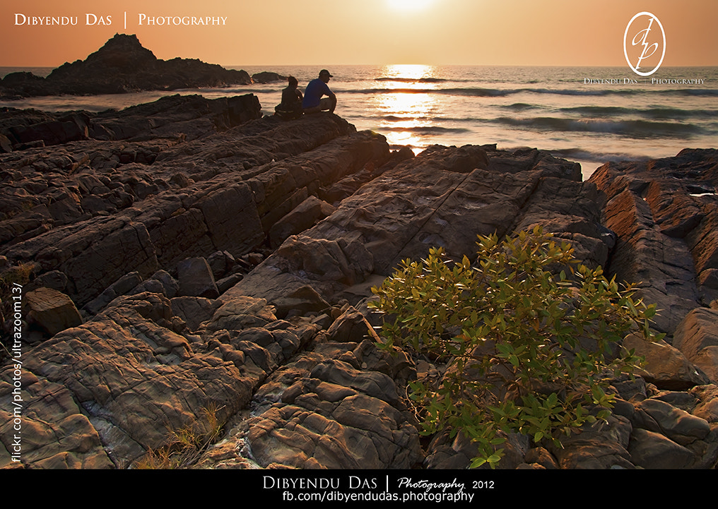Photograph Couple at Sunset Point by Dibyendu Das on 500px