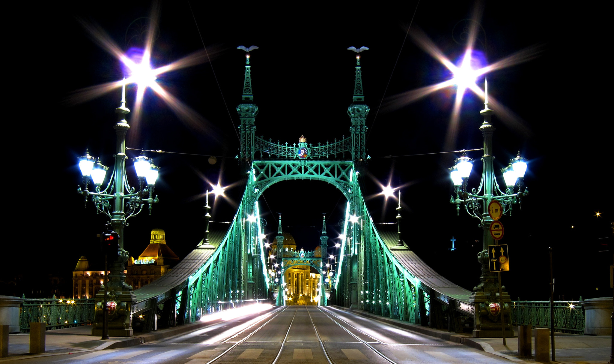 Photograph Liberty bridge - Budapest by Just for fun on 500px