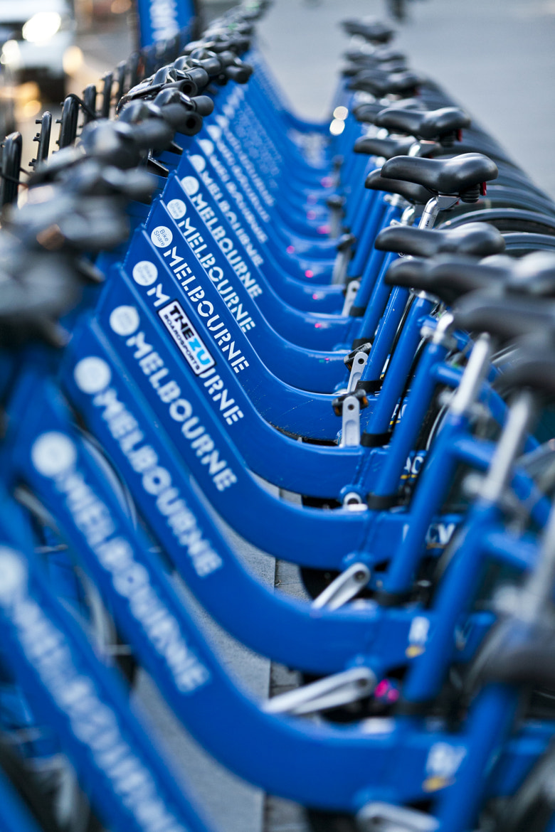 Photograph Melbourne City Bikes by Son G on 500px