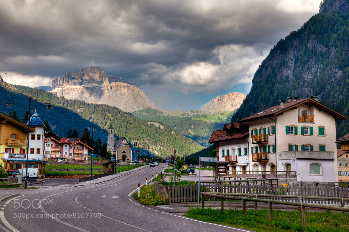 Photograph Mazzin in the Dolomites by Uri Baruch on 500px