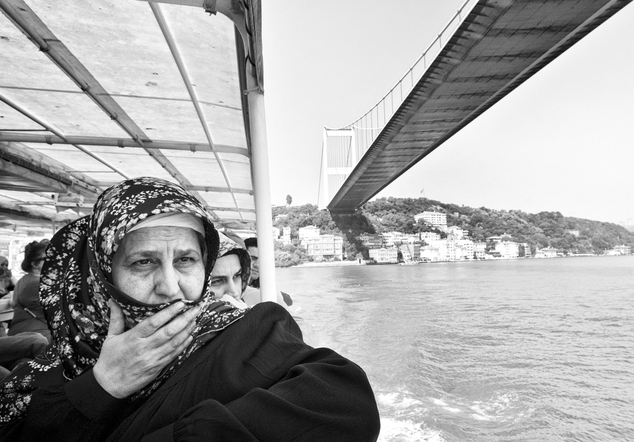 Photograph Woman at the Bosphorus by Ayush Bhandari on 500px