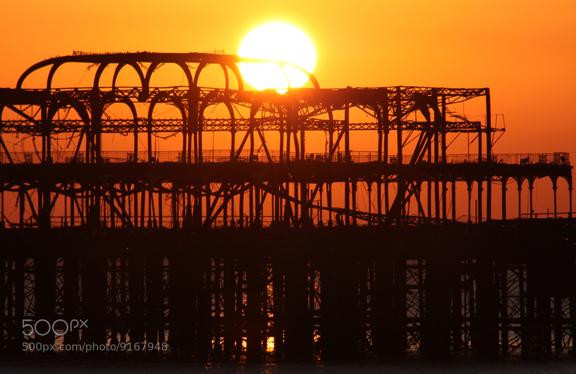 Photograph West Pier by DollyArt on 500px