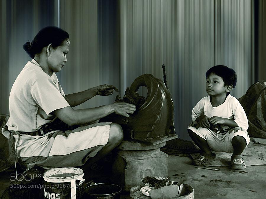 Photograph Pembuatan Gerabah by 3 Joko on 500px