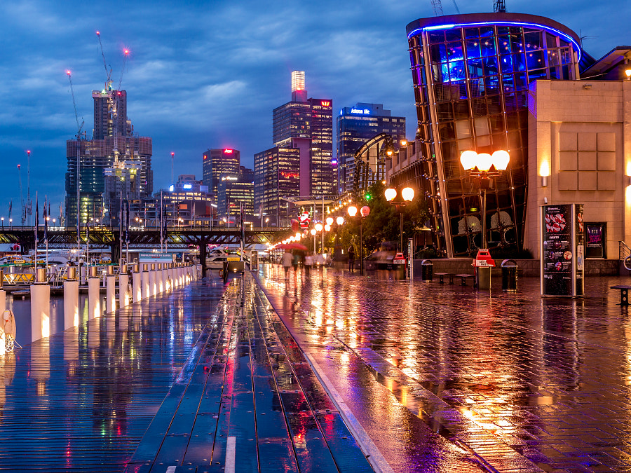 Photograph Darling Harbour Reflections Sydney Australia by Travis Chau on 500px