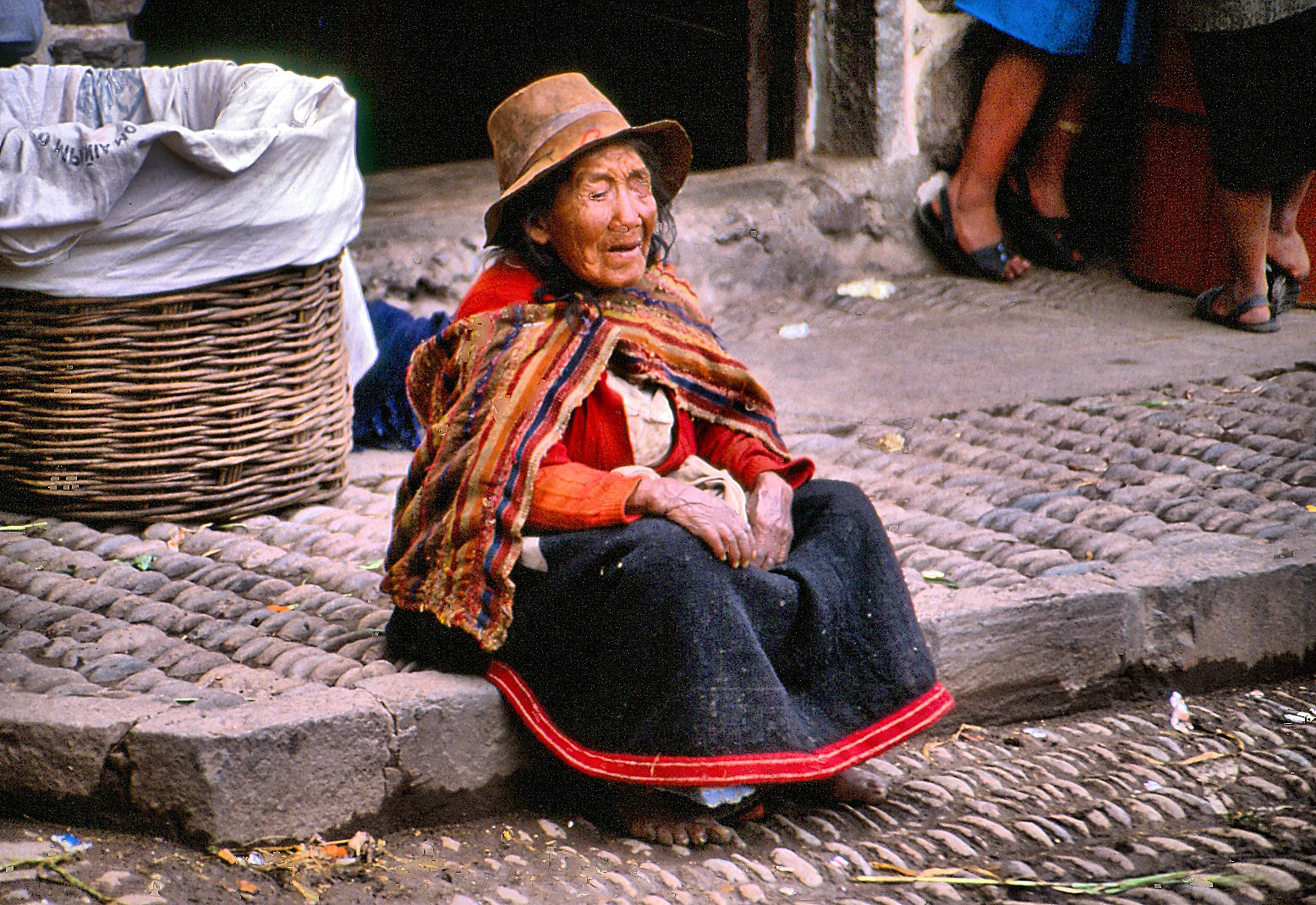 Photograph Old woman in Peru by Estetic of Senses on 500px