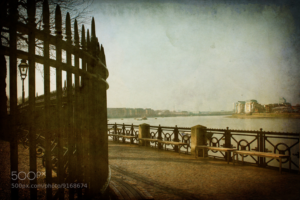Photograph Greenwich Railings by DollyArt on 500px