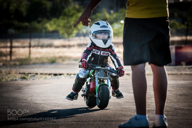 Photograph Child motorbiker by David Cornejo on 500px