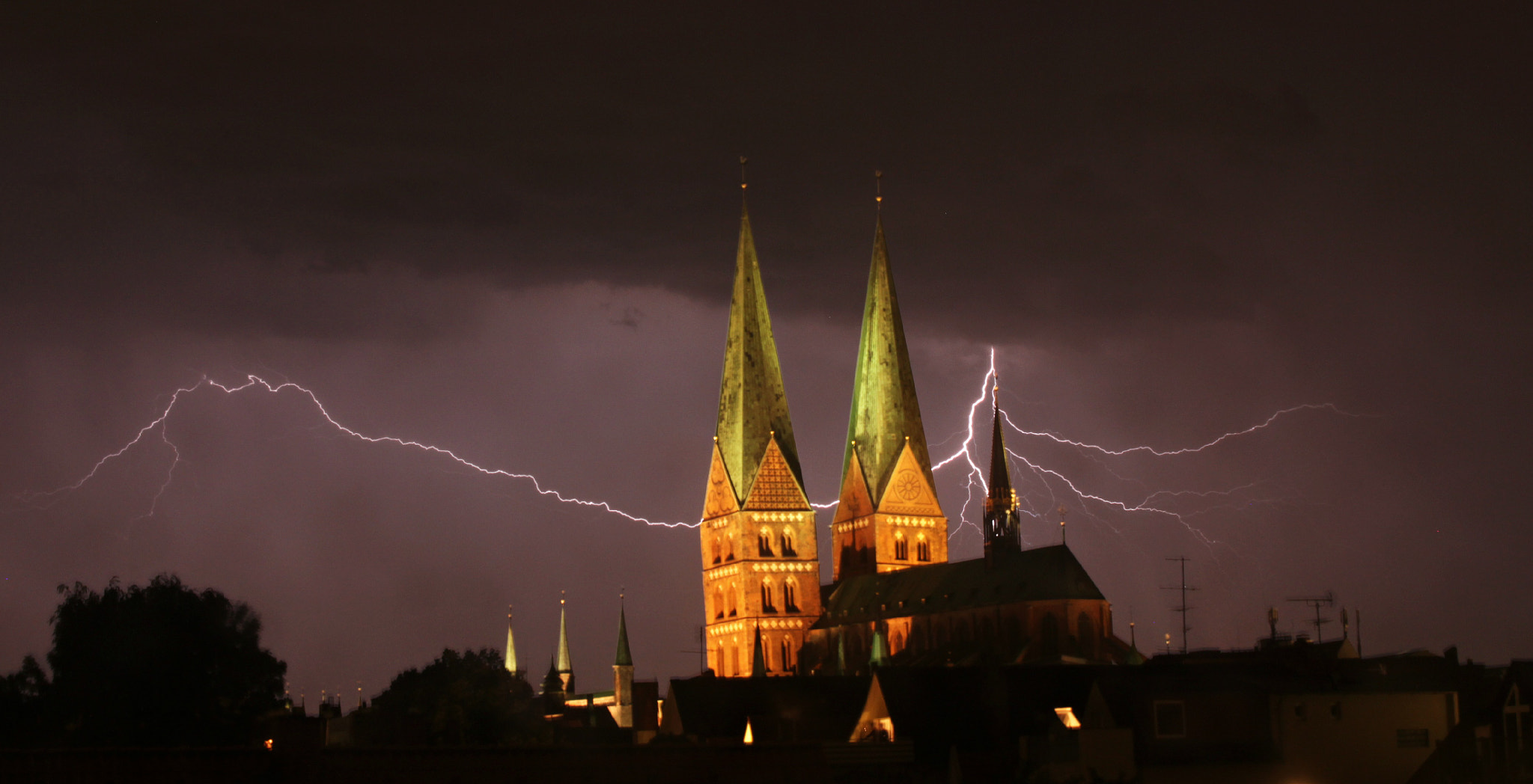 Photograph Lübeck Thunderstorm by Tanja Nevermore on 500px