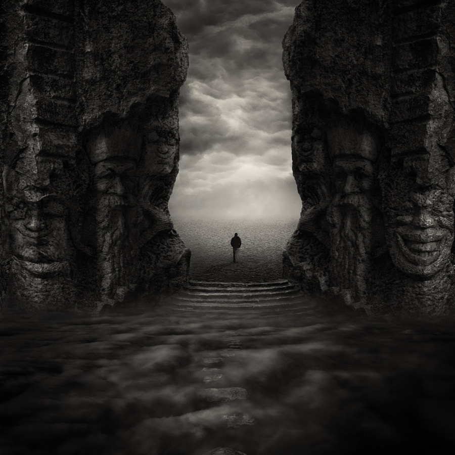 Where my demons hide, автор — Sherry Akrami на 500px.com