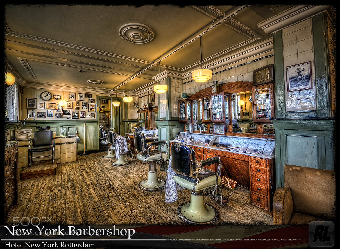 Photograph New York Barbershop Rotterdam by René Ladenius on 500px
