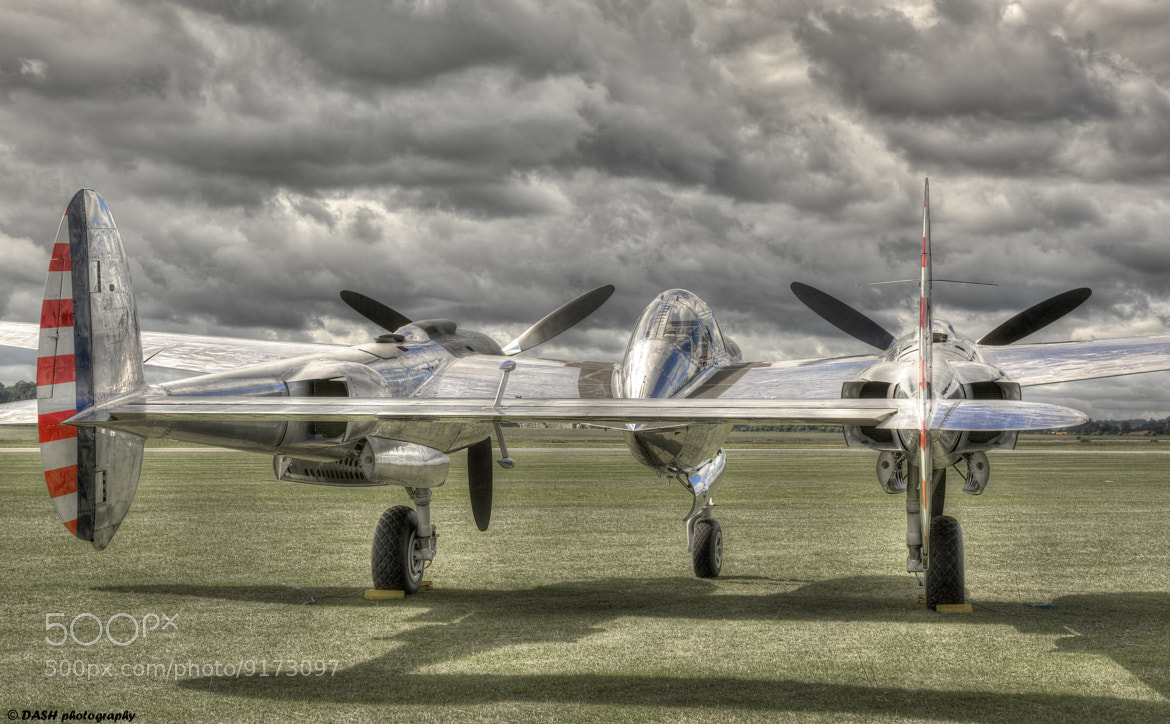 Photograph P38 Lightning - from the rump by David Ash on 500px