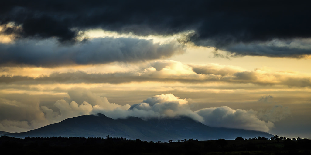 Photograph Clouds rolling over Croagh Patrick by John Mee on 500px