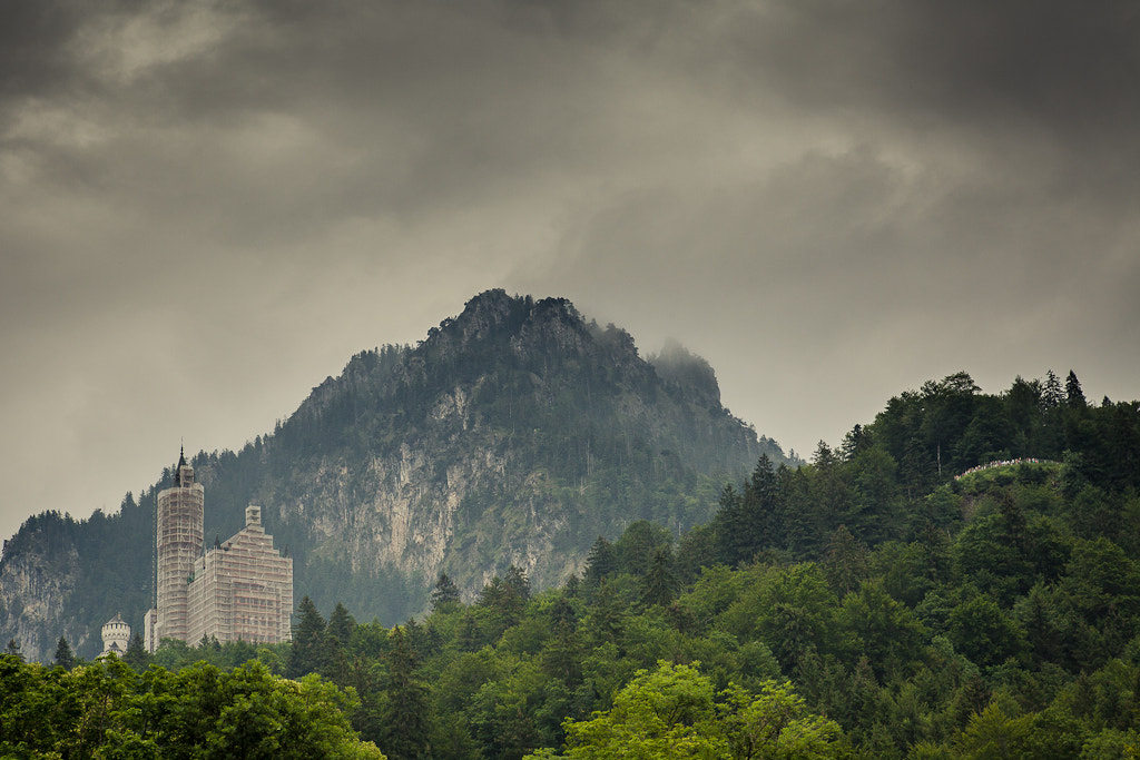 Photograph Castle Neuschwanstein by Christopher Mozzocchi on 500px