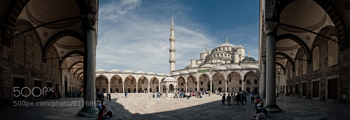 Photograph Blaue Moschee in Istanbul by Michael Schwab on 500px