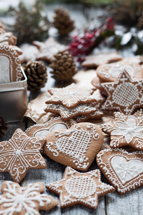 Photograph gingerbread cookies by Gosia ?aniak on 500px