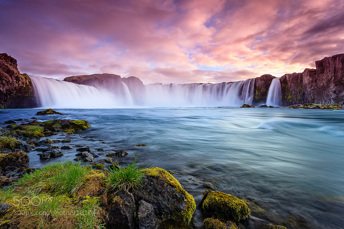 Photograph Waterfall of the Goði by Joe Azure on 500px