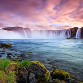 Waterfall of the Goði by Joe Azure (jazure)) on 500px.com