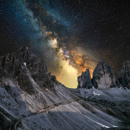 Milky Way Lavaredo horizontal version