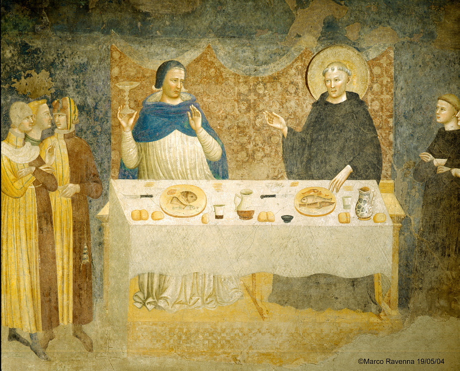 Last supper (fresco) by Marco Ravenna on 500px.com