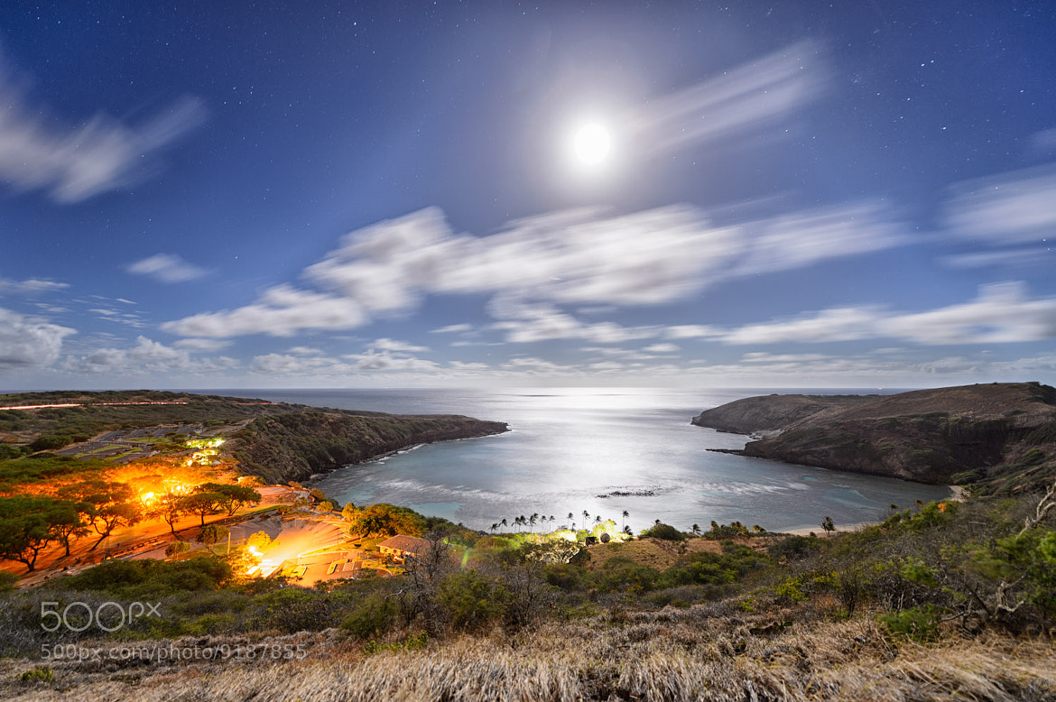Photograph Hanauma Bay by Moonlight by Marshall Humble on 500px