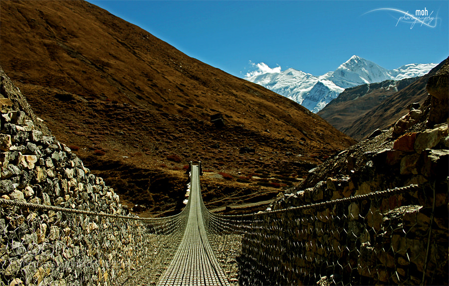 Photograph Connecting Mountains by Mohan Duwal on 500px