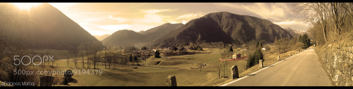 Photograph The valley oh tranquillity by Mattia Daldoss on 500px