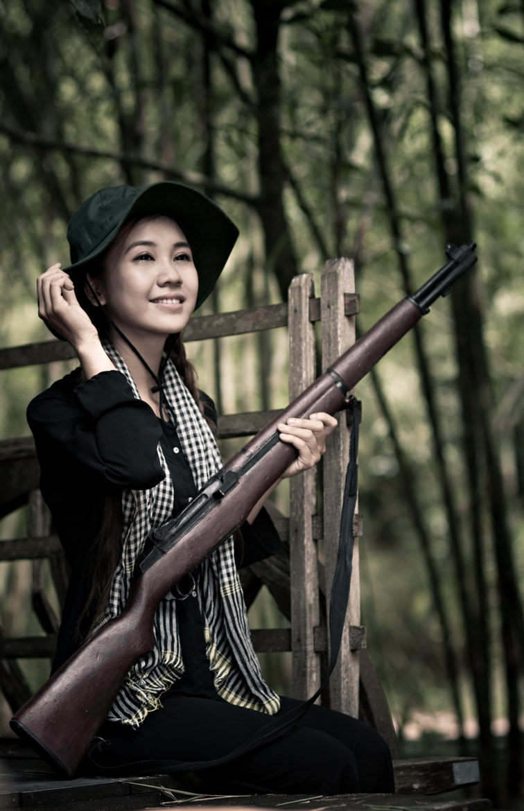 Photograph guerilla girl by Steven Lam on 500px
